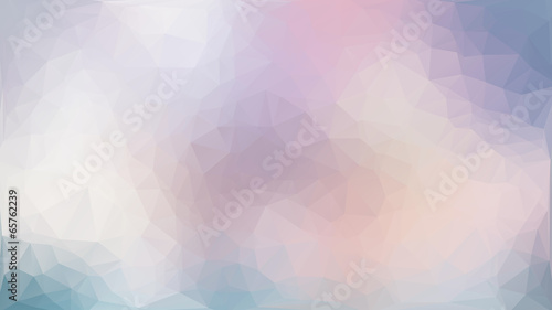 Purple and pink abstract polygon triangle background