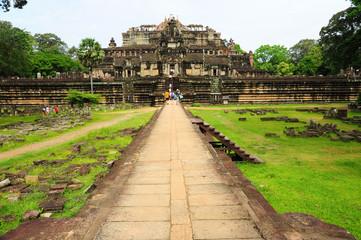 Angkor Temple at Cambodia
