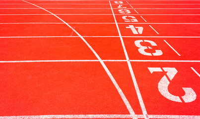 Start Running track Number 2