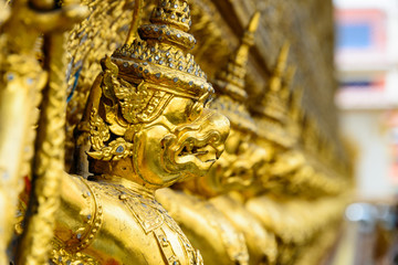 Golden Garuda, Grand Palace, Thailand