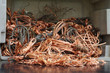 copper wires - 65764411