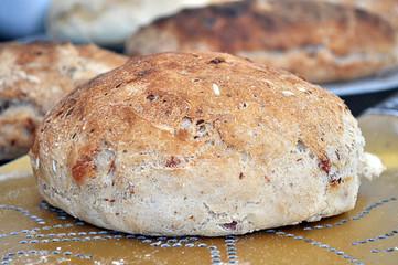Pagnotta di pane appena sfornato