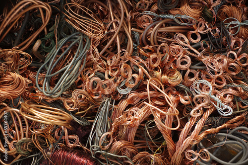 copper wires backgrounds - 65764407