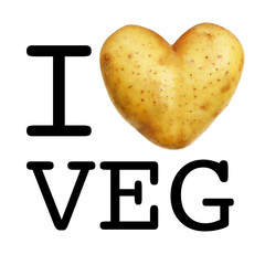 I love vegetable - I love veg