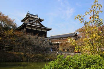 Castle Tower over the main entrance gate, Kyoyama castle