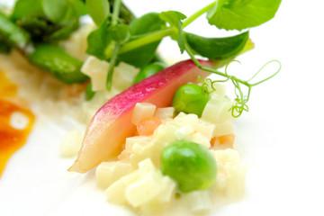 vegetarian side dish detail shoot