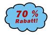 70%Rabatt
