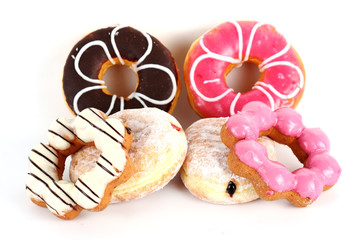 Group of doughnut