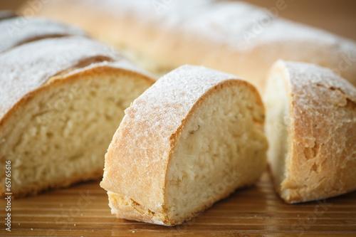 Tuinposter Brood homemade bread