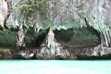 Beautiful limestone in Andaman sea, Thailand