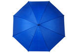Opened blue umbrella