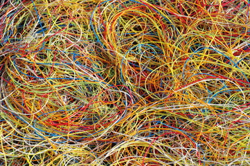 plastic from cables 5