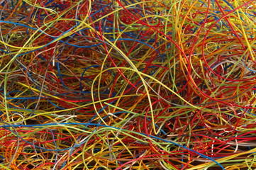 plastic from cables 6