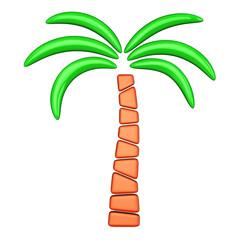Palm icon, 3d