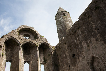 cathedral at the Rock of Cashel