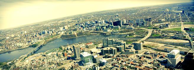 Ottawa vue du ciel