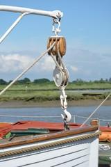 Life boat bow