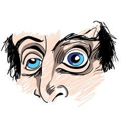 Man with Strange Eyes