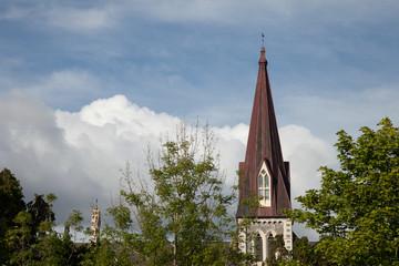 church spire in Kenmare