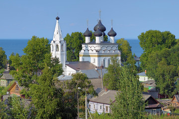 Church of Saviour All-Merciful in Belozersk, Russia