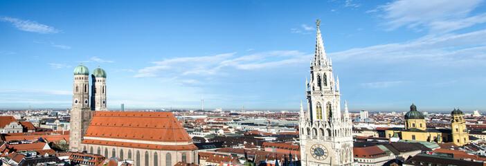 Münchner Marienkirche und Münchner Rathaus