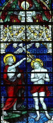 Obraz na Szkle Baptism of Jesus