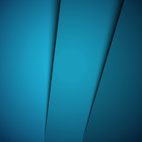 Blue abstract background, vector illustration