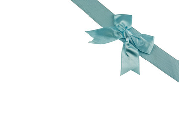 blue bow-knot