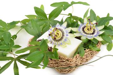 sapone bianco profumato