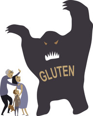 People scared of gluten