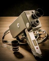 Cinepresa 8mm vintage
