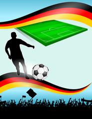 fussball-plakat XVII