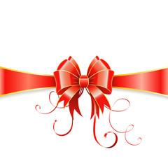 Bow and ribbon
