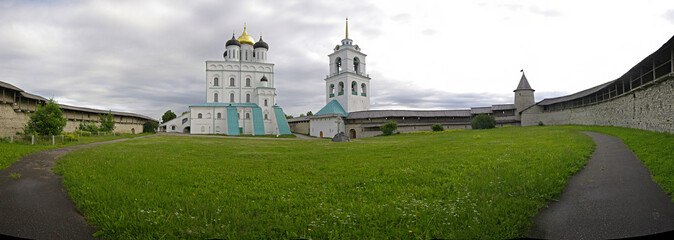 The Pskov Kremlin. Russia.