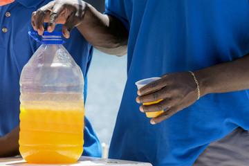 Karibischer Rum-Punsch