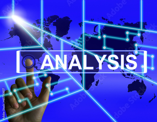 Analysis Screen Indicates Internet or International Data Analyzi
