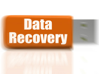 Data Recovery USB drive Means Safe Files Transfer Or Data Recove