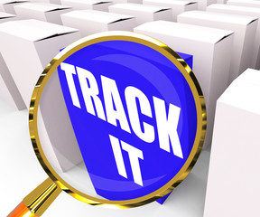 Track It Packet Means to Follow an Identification Number on a Pa