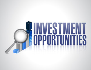 investment opportunities. business concept