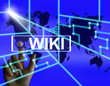 Wiki Screen Means Internet Information and Encyclopaedia Website