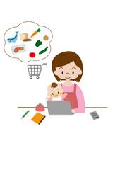 育児中の買物