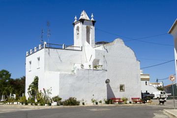 The historic church of San Lorenzo in Faro Portugal.
