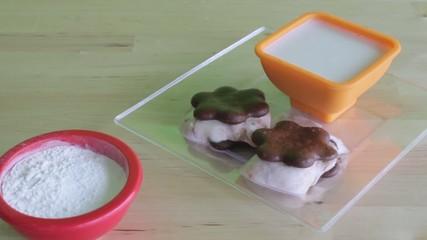 protein healthy homemade ice cream sandwiches