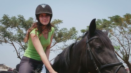12of12 People, woman, girl, horseback riding, farm, sport, horse