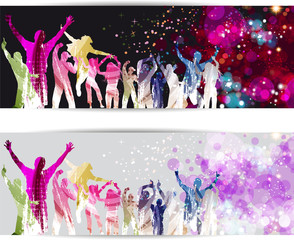 Banner Disco Party