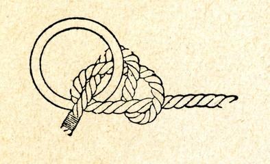 Reins knot