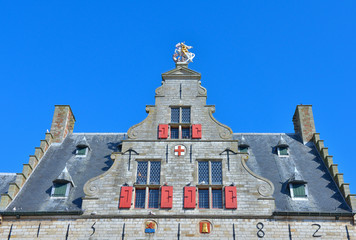 building constructed in 14th century in Middelburg
