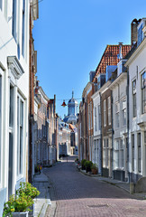Traditional architecture of city Middelburg