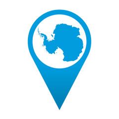 Icono localizacion Antartida