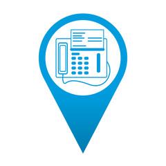 Icono localizacion simbolo fax